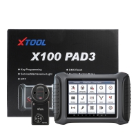 XTOOL X100 PAD 3 Tablet Key Programmer X100 PAD III Car Key Anti-Theft Machine With KC100 And EEPROM Adapter Update Online No Vehicle Limitation