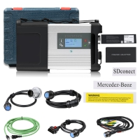 Wifi MB SD C5 With Doip Mercedes Benz SD Connect C5 Multiplexer For Mercedes Cars And Trucks