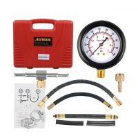 Autool TU-113 Fuel Pressure Tester Kit TU-113 Fuel Injection Pressure Gauge Set test gasoline fuel pump pressure