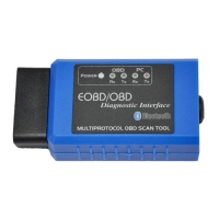 Bluetooth ELM327 EOBD/OBD Diagnostic Interface ELM327 Bluetooth OBDII Adapter With Original ARM Chip For Torque Android