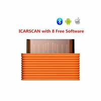 Original Launch X431 Icarscan OBDII Bluetooth Code Reader Scanner Launch ICarscan VCI With 10 Software For Android/iOS System Update Online