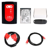 Toyota OTC Plus 3 in 1 OTC GTS Plus OBD Scanner For Toyota Nissan and Volvo Diagnose And Programming With V14.00.018 Toyota TIS Techstream Download Software