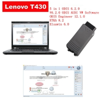 Audi VW ODIS Interface VAS 5054a With Lenovo T430 Laptop Installed V6.2.0 ODIS Download Software Ready To Use