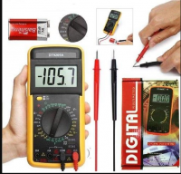 DT-9205A+ Portable Digital Multimeter‎ DMM DT-9205A+ AC DC Voltage Tester With Digital LCD Support Automatic Range Power off