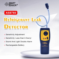 AS5750 Refrigerant Gas Leak Detector AS5750 Halogen Gas detector Used For Location Determine Tester alarm detect