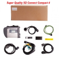 Super MB Star SD Connect C4 multiplexer Wifi/Wireless Mercedes Star Diagnosis System MB SD Compact 4 Mux