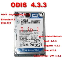 ODIS 4.3.3 Download 5 in 1 VAG ODIS 4.3.3 Software With ODIS Engineering 8.1.3 Download, Elsawin 5.3, Etka 8.0 Software
