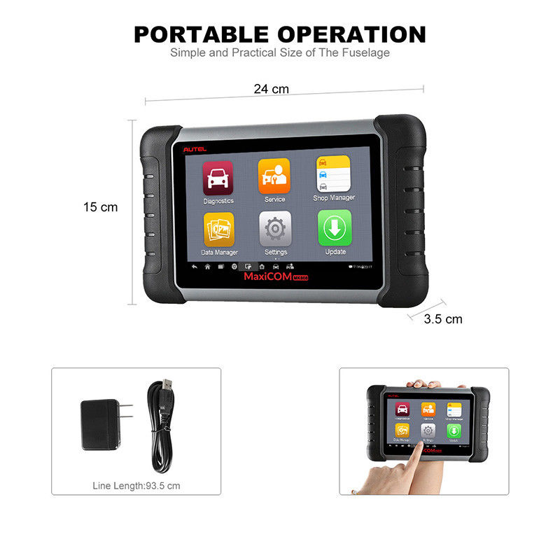 Autel MaxiCheck MX808 Android Tablet Diagnostic Tool Code