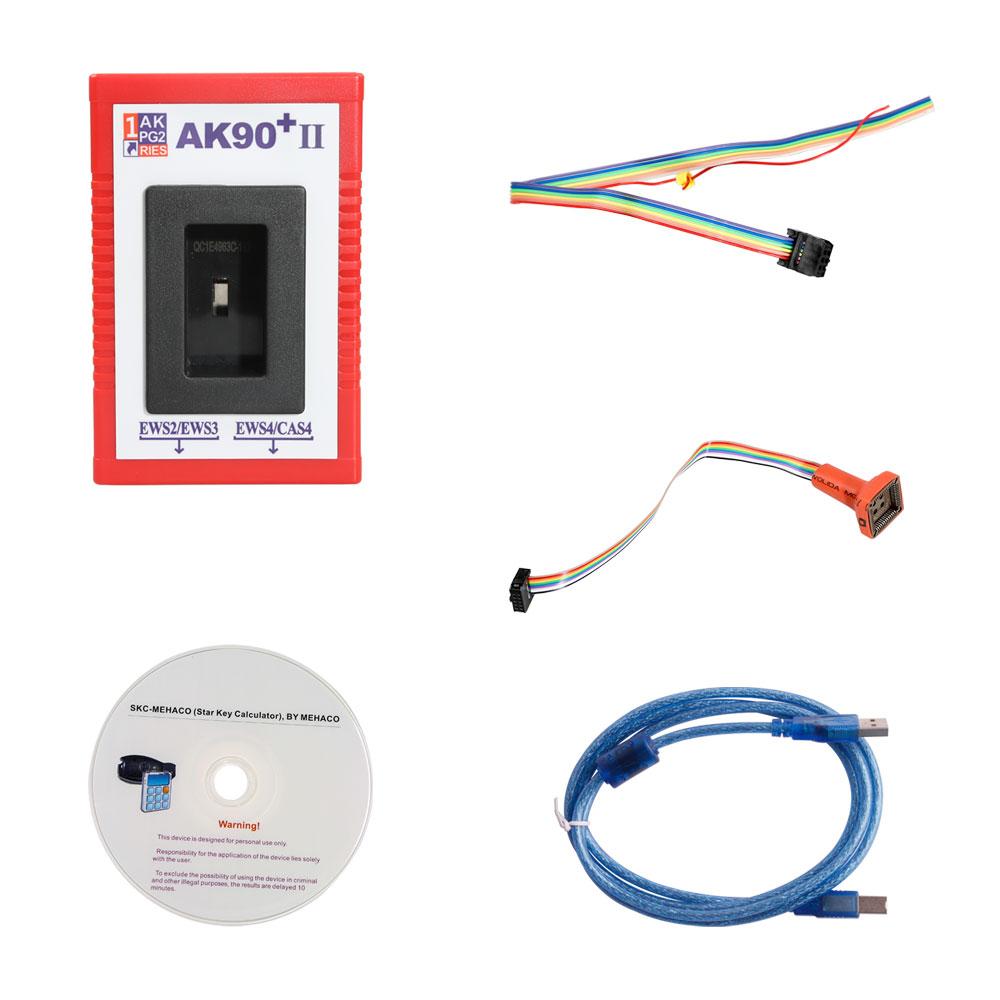 AK90+ II BMW Key Programmer