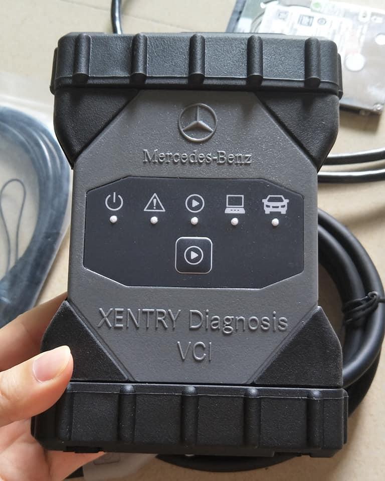 Actia Mercedes Benz Xentry Diagnosis Vci Original Mercedes