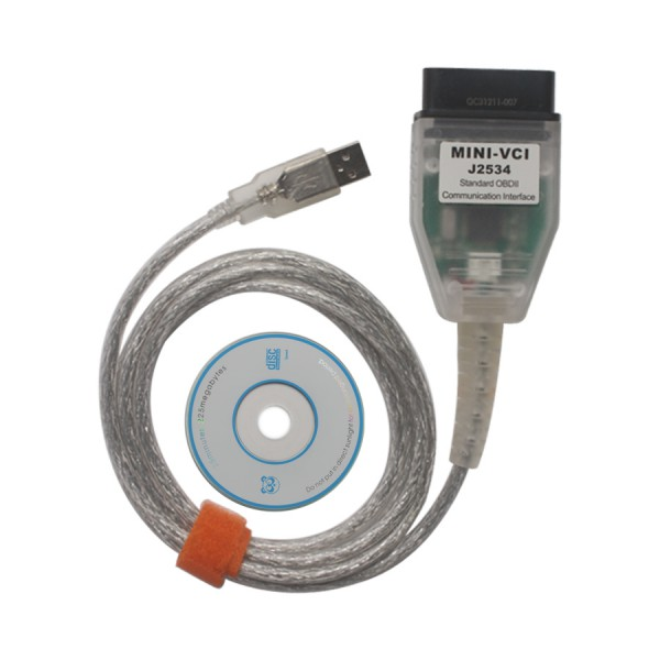 Toyota Mini VCI Single Cable