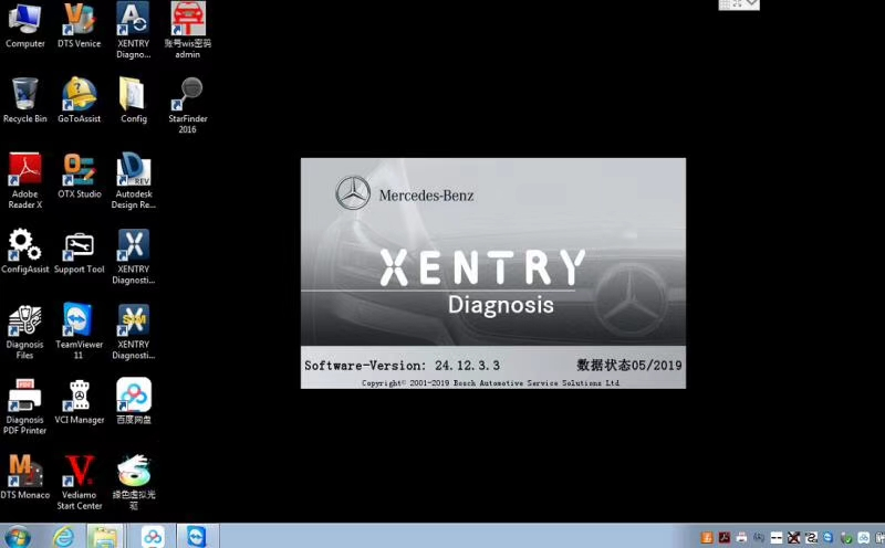 Mercedes-Benz Xentry OpenShell XDOS 2019 03 Download V2019 5