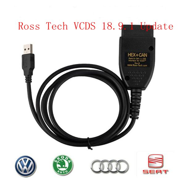 VCDS 18 9 1 Crack Cable Genuine Ross Tech VCDS 18 91