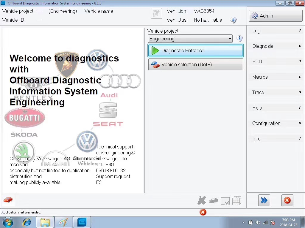ODIS 4 3 3 Download 5 in 1 VAG ODIS 4 3 3 Software With ODIS