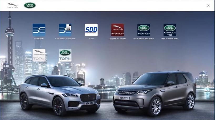 JLR DOIP VCI Wifi JLR Pathfinder Tool For Jaguar Land Rover